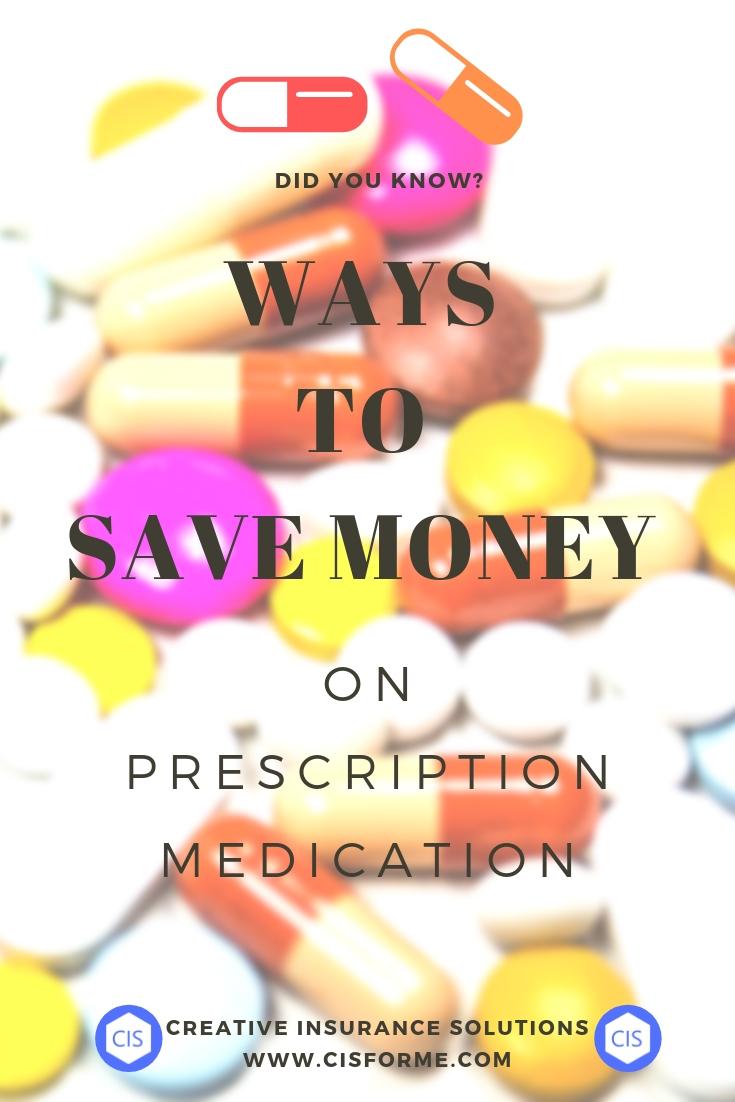 Save Money on Prescription Medication